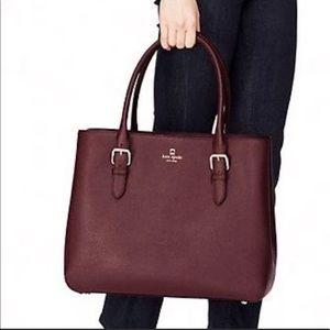 NEW Kate Spade Handbag Airel- Mulled Wine